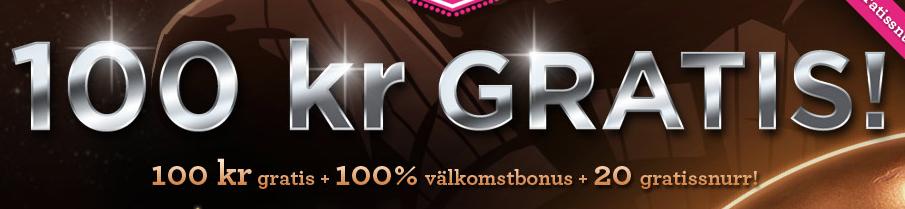 100 kr casino bonus