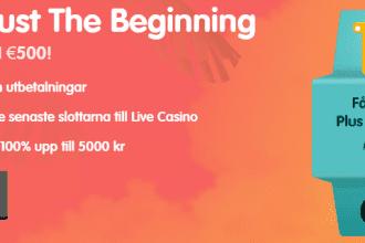 CasinoRoom välkomstbonus