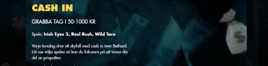 Bonusregn hos Bethard