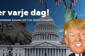 Vinn USA-resa och få casino bonusar under presidentvalet