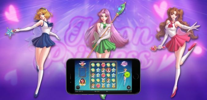freespins på moon princess spelautomat