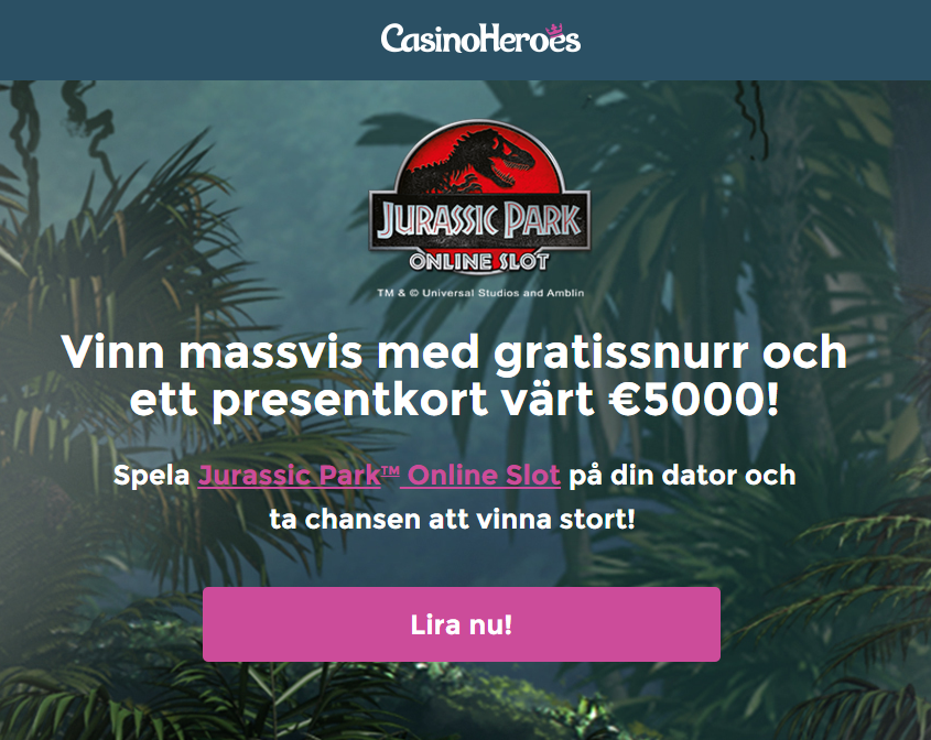Spela Jack Hammer spelautomat på nätet på Casino.com Sverige