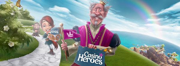 Besegra bossar hos Casino Heroes