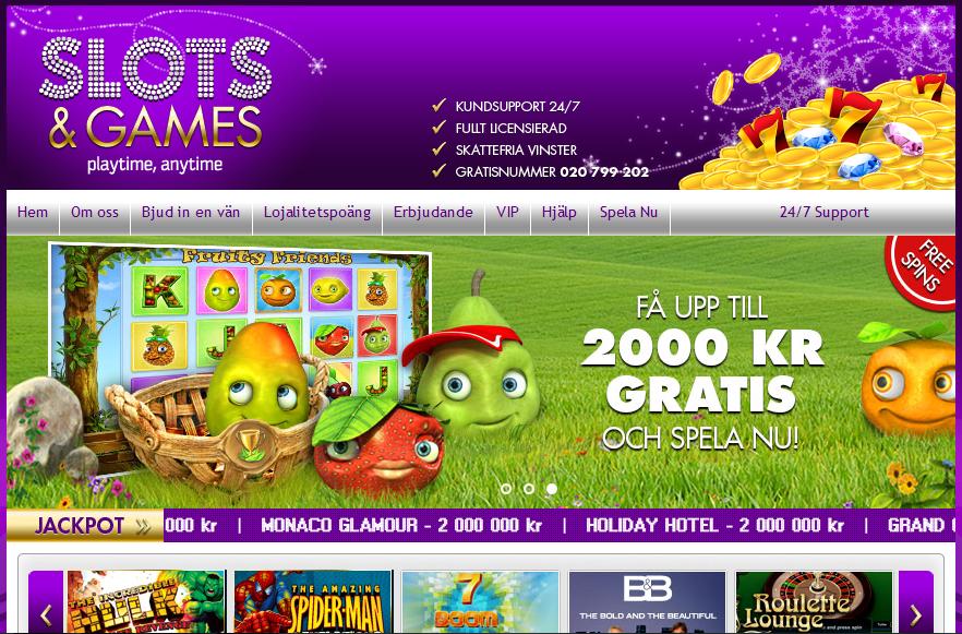 SlotsandGames.com