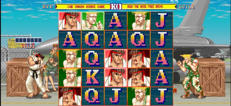 Street Fighter II screenshot