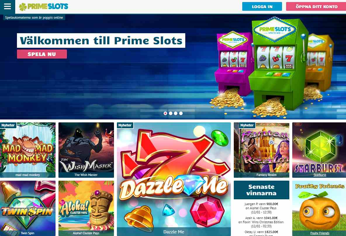 primeslots screenshot