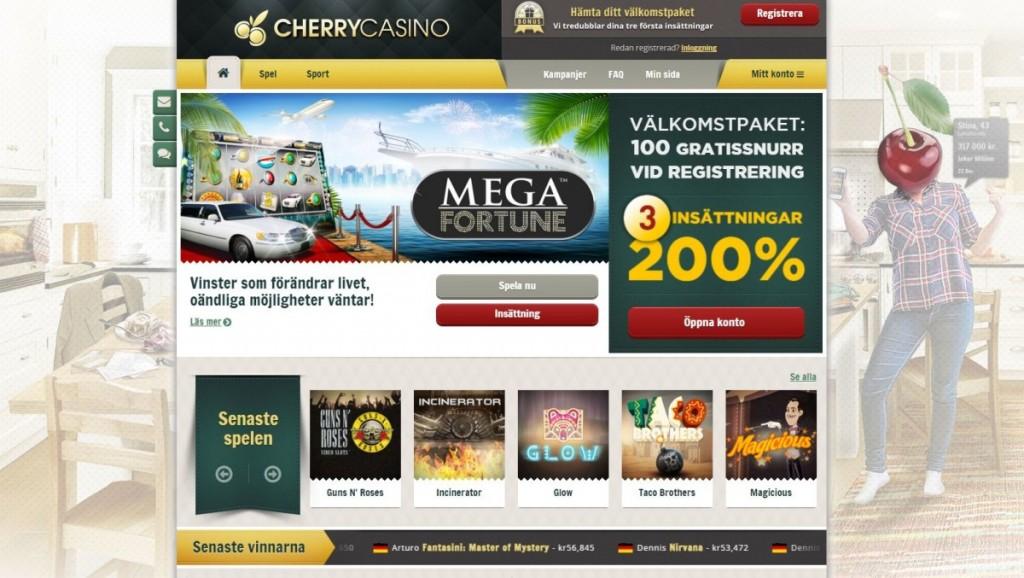 cherry casino sports